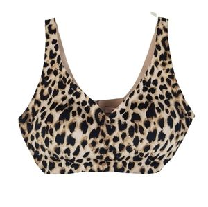 Victoria Secret Leopard Print V-neck Bralette